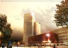 Förslag till ny kongressanläggning i Malmö ställs ut på Form/Design Center