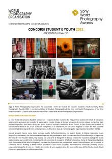 Sony World Photography Awards. Concorsi Student e Youth 2021. Presentati i finalisti