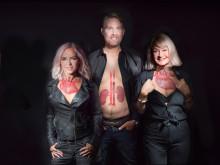 Artister och företagare stödjer forskningen inom organdonation