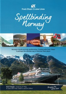 Be spellbound by Norway's mighty fjords on a Fred. Olsen smaller-ship cruise