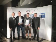 Deutschlands bester Straßenbau-Auszubildender 2017 in Berlin geehrt