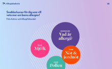 Digital kunskapsplattform ska öka kunskap om allergier hos barn- lansering idag