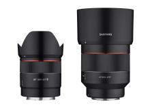 Samyang veröffentlicht Firmware-Updates für die Objektive AF 35mm F1,8 FE und AF 85mm F1,4 RF