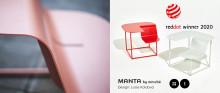 Nya multifunktionella MANTA belönad med Red Dot Design Award