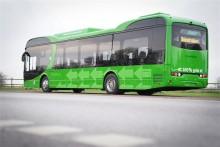 Premiär för elbussar i Eslöv