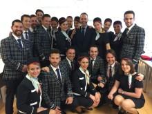 Norwegian gradúa su primera promoción de tripulantes de largo radio de Barcelona