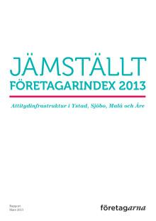 Rapport: Jämställt företagarindex 2013