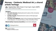 Norge – Catalonia: Middelalderens kunst, en delt kunstarv