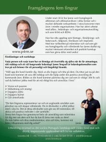 Framgångens fem fingrar - Janne Tengvall utvecklar företag och människor.