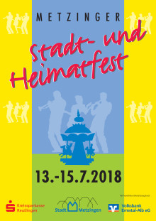 Stadtfest in Metzingen - Großer  Festumzug am Samstag