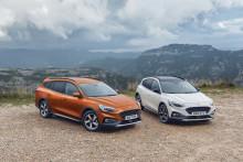 Nový crossover Ford Focus Active spojuje všestrannost SUV s vynikajícími jízdními vlastnostmi Focusu