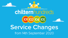 Chiltern Hundreds 101/102 & 104/105 Changes