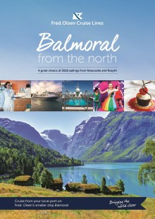 Fred. Olsen Cruise Lines highlights Northern and Scottish sailings on flagship 'Balmoral' in 2018