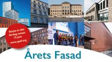 Har ditt projekt Årets Fasad?