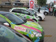 Laddat för elbilsrally runt Öresund