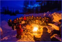 Friluftsopphold vinter for barn og unge 22. - 31. mars 2017