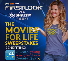 Shazam, Now in Theaters: NCM's FirstLook Is  Now Shazamable on Over 20,000 Movie Screens