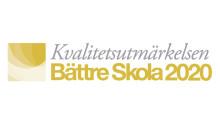 Kvalitetsutmärkelsen Bättre Skola 2020 till Solna och Skinnskatteberg