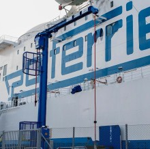 Cavotec demonstrates benefits of shore power at Swedish port of Ystad