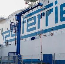 Invigning av Cavotec landströmprojekt i Ystads hamn - den största högspänningsanläggningen för landanslutning i världen