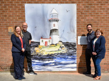 ​  Game of Thrones fever spreads to Larne town centre in exciting new Art Trail