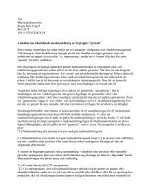 Handikappförbundens anmälan till Marknadsdomstolen