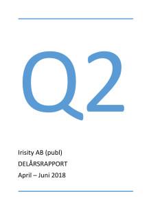 Delårsrapport andra kvartalet 2018