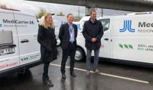 Widriksson Logistik storsatsar på nya lastbilar som drivs på el och biogas
