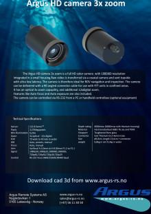 Argus ROV kamera