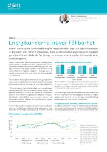 Energikunderna kräver hållbarhet