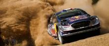 Mit drei WM-Titeln im Gepäck schickt M-Sport den Ford Fiesta WRC in Australien auf Podestkurs
