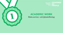 Academic Work prisas som bästa arbetsgivare