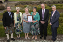 Forres in Bloom celebrate Beautiful Scotland awards success