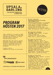 UPSALA, DARLING - programblad hösten 2017