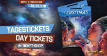 FedCon 2018: Tagestickets ab sofort im Ticket-Shop erhältlich