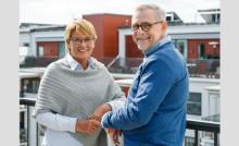 Balkong/uteplats viktigast när Sveriges seniorer väljer bostad