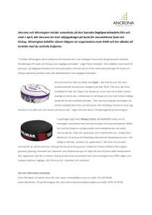 Ancrona och Winnington inleder samarbete på den Svenska Dagligvaruhandeln
