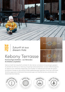 Übersicht Kebony Produkte Terrasse 2020