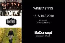 Düsseldorf: Winetasting bei BoConcept stilwerk – 15.3. & 16.3.2019