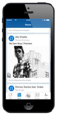 Warner Music Group and Shazam Announce Landmark Strategic Alliance