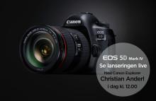 Lansering EOS 5D Mark IV