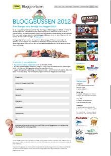 Twingly och Stena Line söker föräldrabloggare till Bloggbussen 2012