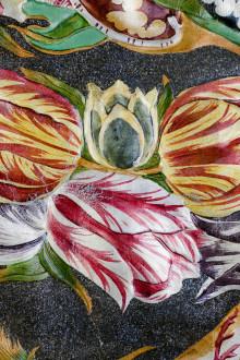 Blomsterkonstnären Gunnar Kaj dukar upp barockens påskbord