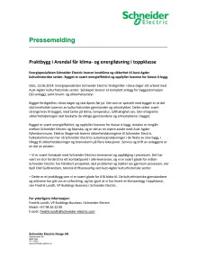 Praktbygg i Arendal får klima- og energiløsning i toppklasse