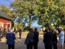 Ambassadörer gästar Göta kanal.