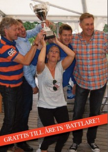 SMS vinnare av Årets The Battle 2012