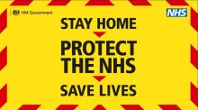 Stay at home, save lives, save our NHS – help is here