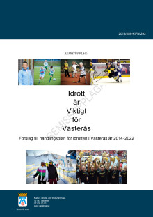 Förslag till handlingsplan för idrotten i Västerås 2014-2022