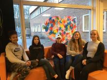 Elever från Erlaskolan i Norrköping deltar i Kockduellen