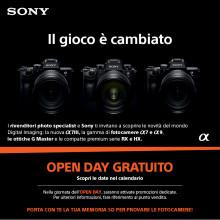 Ripartono gli Open Day fotografici di Sony
